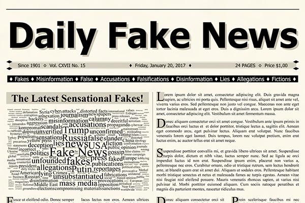 Fake news in a time of half-truths