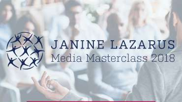 Janine Lazarus Media Masterclass 2018